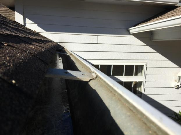 After a completed gutter cleaner project in the area